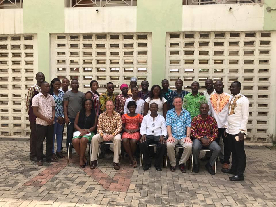 Ghana - Team Leader Training Group Photo