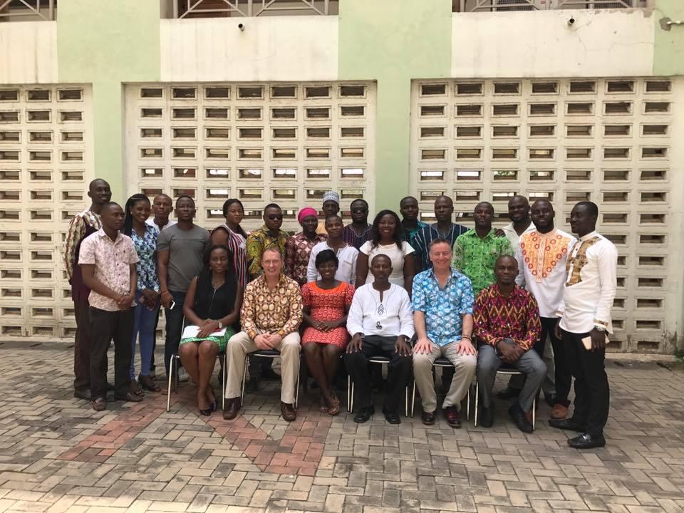Ghana - Team Leader Training Group Photo